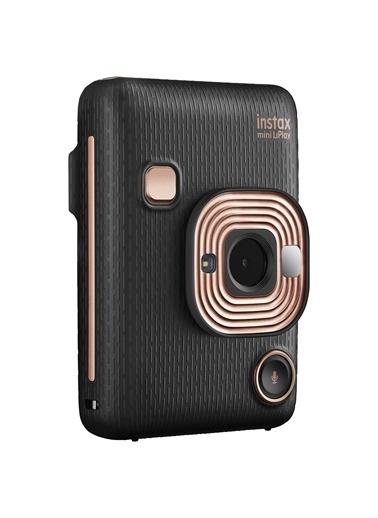 Fujifilm Instax mini LiPlay Hybrid Elegant Black Fotoğraf Makinesi Çantalı Hediye Seti 3 Siyah